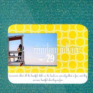 Random advice 29